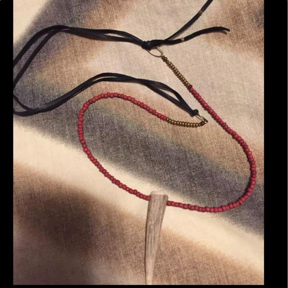 Jewelry - Dear antler necklace